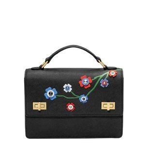 HENRI BENDEL WEST 57TH SCHOOLBAG FLORAL